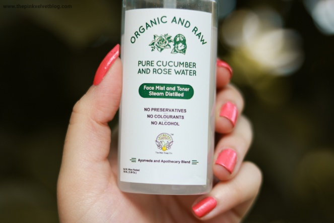 greenberry organics face mist